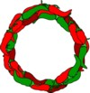 Texas Pepper Jelly wreath