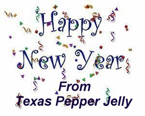 happy new year 2018 from texas pepper jelly