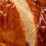 Texas Bird Bath, pepper jelly, baked turkey, turkey skin