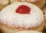 Texas style jelly doughnuts