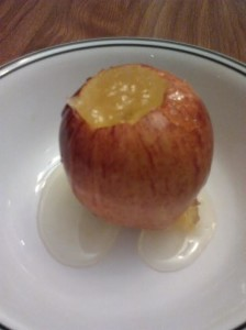 Pineapple Habanero Baked Apple