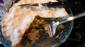 Texas-style gooseberry pie!