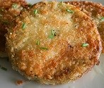 Fried green tomato - Texas Style!