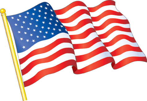 American flag, Texas Pepper Jelly