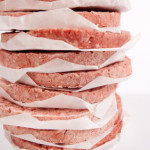 That little piece of waxed paper in between each patty will make a world of difference on cookout day!