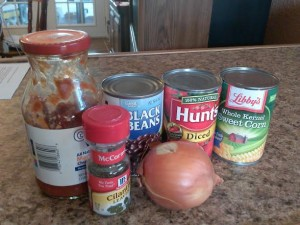Simple ingredients - they're probably already in your pantry!